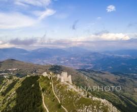 Rocca Calascio in Abruzzo, Italy.