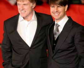 Tom Cruise - Robert Redford