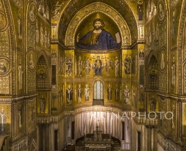 Cathedral of Monreale in Sicily.