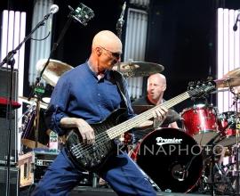 Peter Gabriel in the concert.