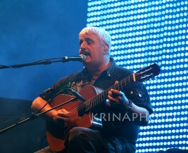 Pino Daniele in the concert.