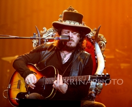 Zucchero in the concert.