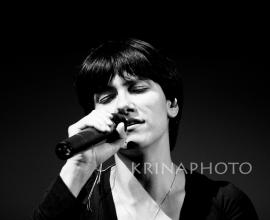 Elisa in the concert.