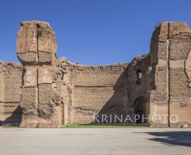 Terme di Caracalla in Rome.