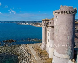 Castle of Santa Severa, Italy.