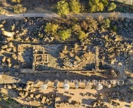 La Valle dei Templi di Agrigento. Tempio di Ercole.